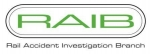 Inspector – Rail Accident Investigation Branch (RAIB)