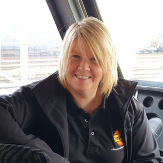 Picture of Heather Waugh, Train Driver, Freightliner